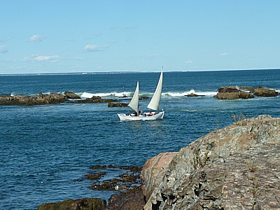 brave boaters in Ogunquit